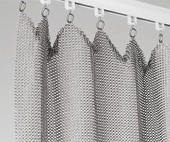 Custom Chain Mail Curtains & Screens in London